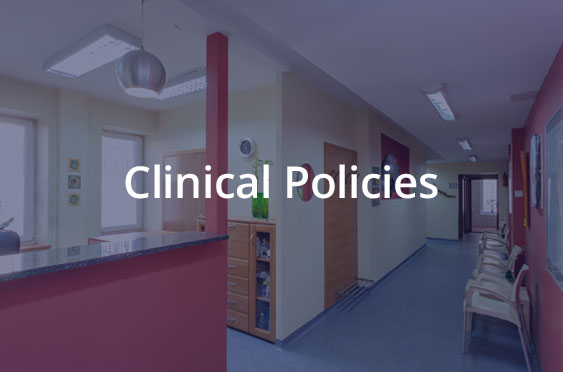 Clinical Policies